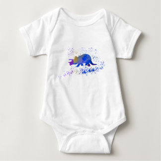 Body Para Bebê Triceratops