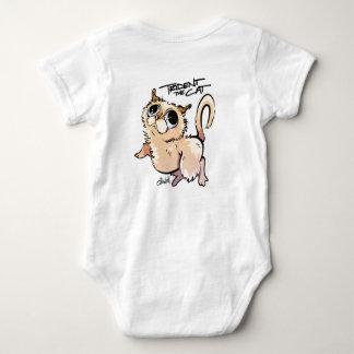 Body Para Bebê Trident o Jumpsuit unisex do bebê do gato