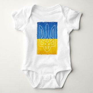 Body Para Bebê Tridente ucraniano do tryzub do emblema