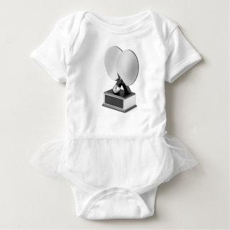 Body Para Bebê Troféu de prata do ténis de mesa