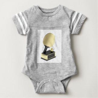 Body Para Bebê Troféu do ténis de mesa