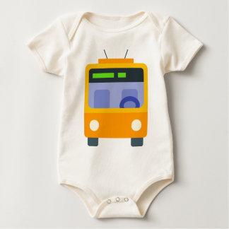 Body Para Bebê Trolleybus