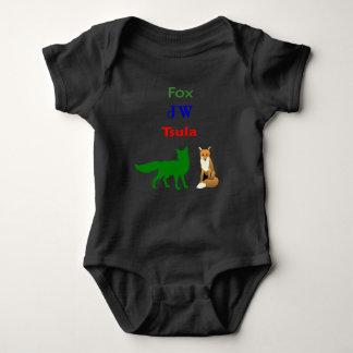 Body Para Bebê TSULA - Bodysuit Cherokee do bebê do roupa do Fox