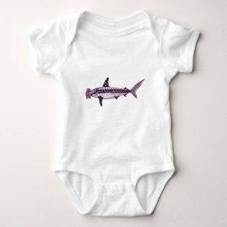 Body Para Bebê Tubarão de Hammerhead