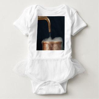 Body Para Bebê Tubulação de cobre com vapor