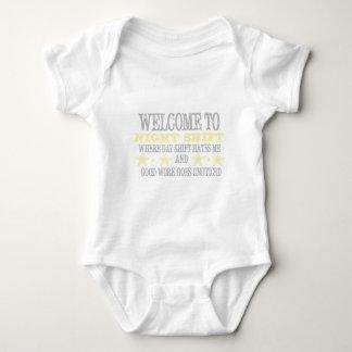 Body Para Bebê Turno da noite