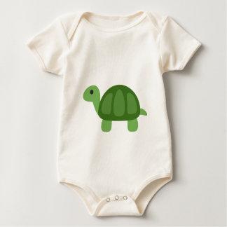 Body Para Bebê Turtle Emoji