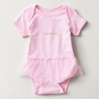 """Body Para Bebê Tutu adorável do bebê """"que eu cheiro bom"""""""