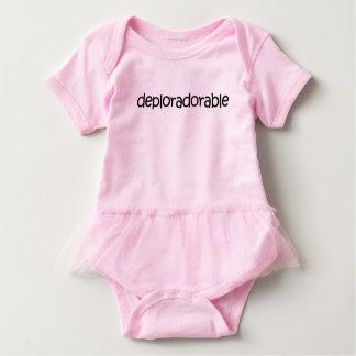 Body Para Bebê Tutu bonito! Bodysuit deploràvel adorável do tutu!