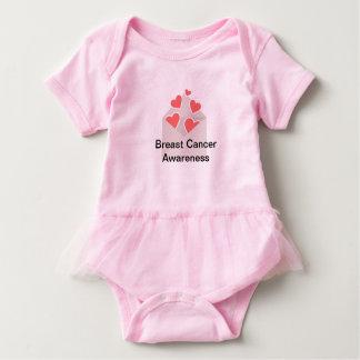 Body Para Bebê Tutu da consciência do cancro da mama
