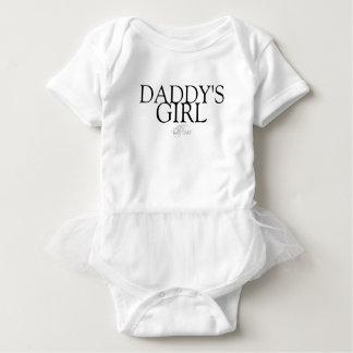 Body Para Bebê Tutu da menina do pai