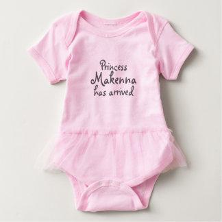 Body Para Bebê Tutu do bebé da princesa Ter Chegada