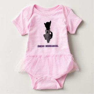 Body Para Bebê Tutu do bebê: Gato engraçado