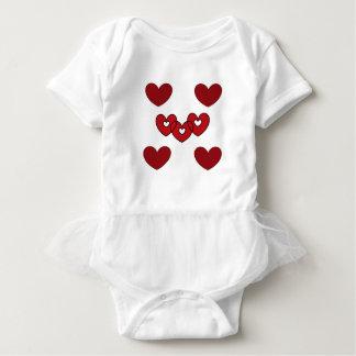 Body Para Bebê tutu do bebê pelo DAL
