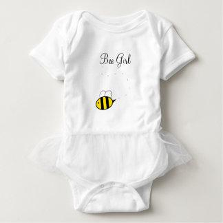 Body Para Bebê Tutu do Bodysuit da menina da abelha