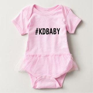 Body Para Bebê Tutu do rosa de bebê de KD