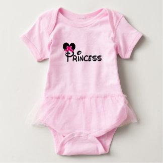 """Body Para Bebê Tutu """"princesa pequena """" do bebê"""