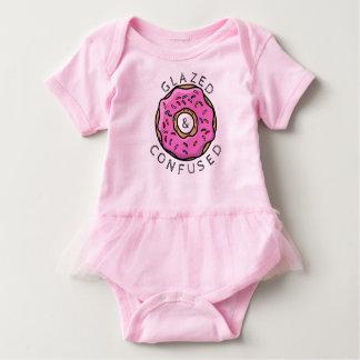 Body Para Bebê Tutu vitrificado e confundido do bebê