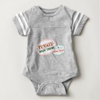 Body Para Bebê Tuvalu feito lá isso