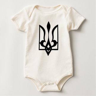 Body Para Bebê Ucraniano Tryzub