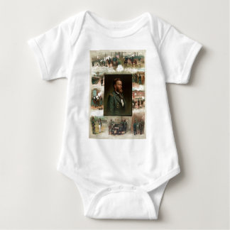 Body Para Bebê Ulysses S. Grant de West Point a Appomattox
