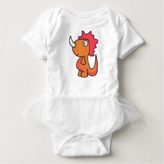 Body Para Bebê Um amigo lunático do dinossauro, bonito e adorável