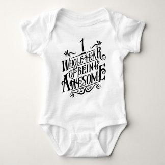 Body Para Bebê Um ano inteiro de ser impressionante