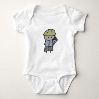 Body Para Bebê Um bodysuit pequeno do bebê do arquiteto