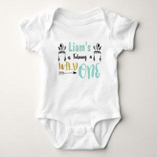 Body Para Bebê Um Bodysuit selvagem personalizado do jérsei do
