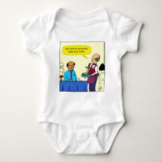 Body Para Bebê Um Brutus de 904 cozinheiros chefe fez os desenhos
