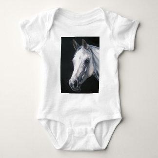 Body Para Bebê Um cavalo branco
