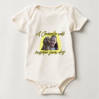 Body Para Bebê Um Cavoodle iluminará seu dia