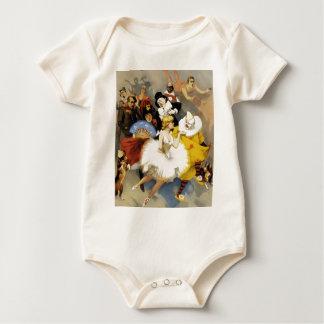 Body Para Bebê Um circo dos dançarinos
