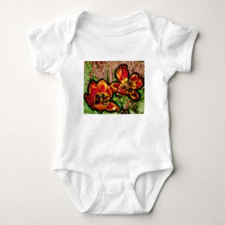 Body Para Bebê Um esboço do duo do Tulipa