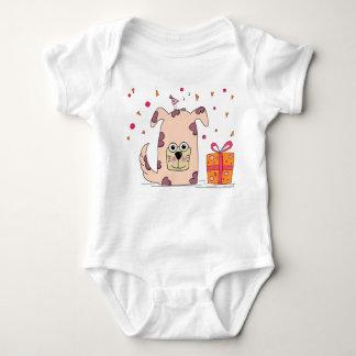 Body Para Bebê Um filhote de cachorro adorável para seu lil um