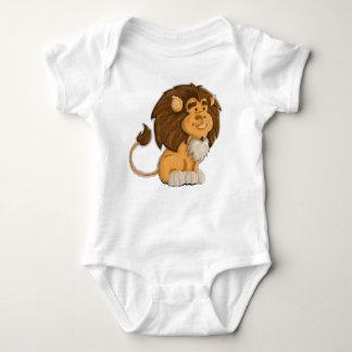 Body Para Bebê um leão bonito