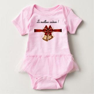 Body Para Bebê Um onsie ou um grenouillere adorável do Natal