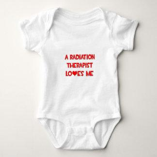 Body Para Bebê Um terapeuta da radiação ama-me