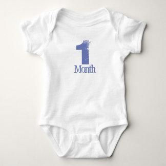 Body Para Bebê Um terno do corpo do mês