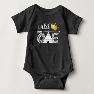 Body Para Bebê Um terno tribal selvagem do corpo