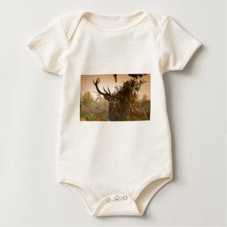 Body Para Bebê Um veado vermelho masculino mistura dentro o