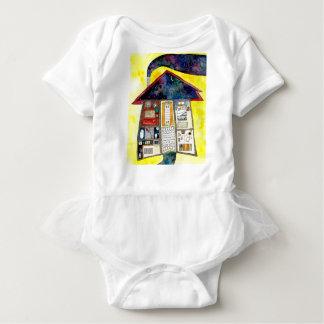 Body Para Bebê Uma casa de meus sonhos