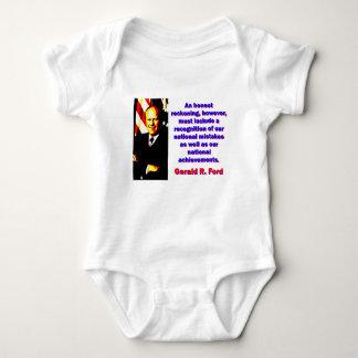 Body Para Bebê Uma conta honesta - Gerald Ford