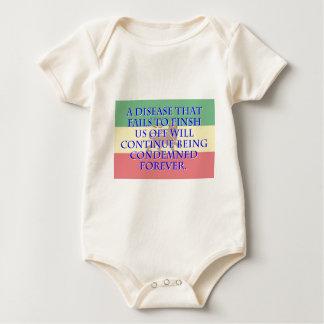Body Para Bebê Uma doença que não termine - Amharic