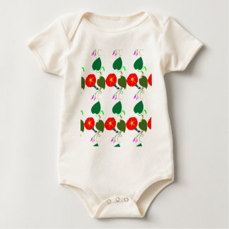Body Para Bebê UMA flor doce: Adicione seus CUMPRIMENTO/louvor