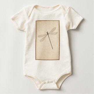 Body Para Bebê Uma libélula, por Nicolaas Struyk, cedo 18o C.