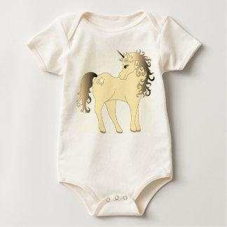 Body Para Bebê Unicórnio branco bonito