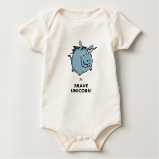 Body Para Bebê Unicórnio bravo