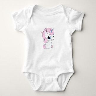 Body Para Bebê Unicórnio do bebê