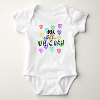 Body Para Bebê Unicórnio pequeno